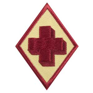 Cadette First Aid Badge - 61411