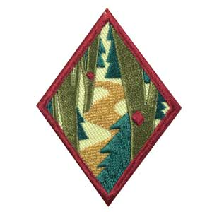 Cadette Trailblazing Badge - 61414