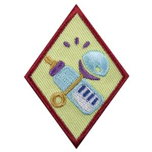 Cadette Babysitter Badge - 61415