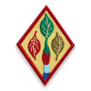 OUTDOOR ART APPRENTICE BADGE - 61434