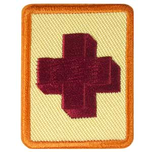 Senior First Aid Badge - 61509