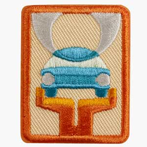 Senior Car Care Badge - 61513