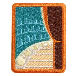 Senior Troupe Performer Badge - 61517