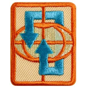 Senior Traveler Badge - 61524