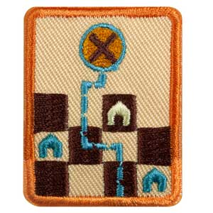 Senior Game Visionary Badge - 61525