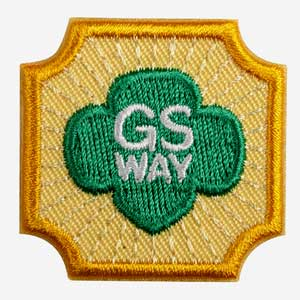 Ambassador Girl Scout Way Badge - 61604
