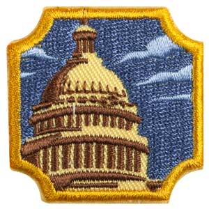 Ambassador Public Policy Badge - 61606