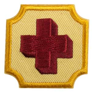 Ambassador First Aid Badge - 61608