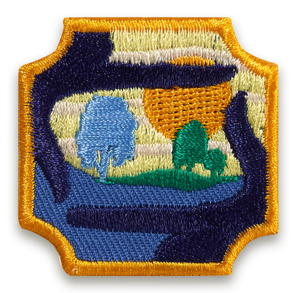 OUTDOOR ART MASTER BADGE - 61615