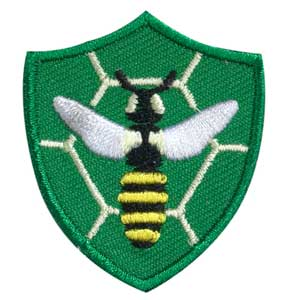Bee Troop Crest - 61802