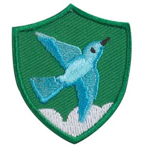 Bluebird Troop Crest - 61803