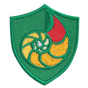 Nautilus Shell Troop Crest - 61809