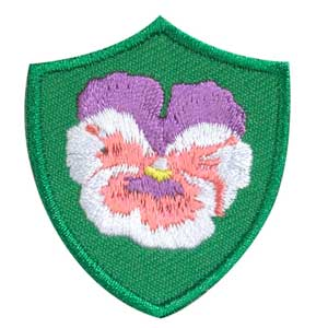 Pansy Troop Crest - 61810