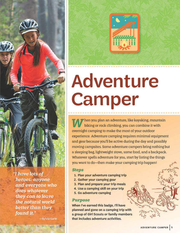 ADVENTURE CAMPER PAMPHLET - 64029