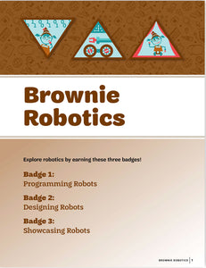 BR ROBOTICS BADGE PAMPHLET - 64037