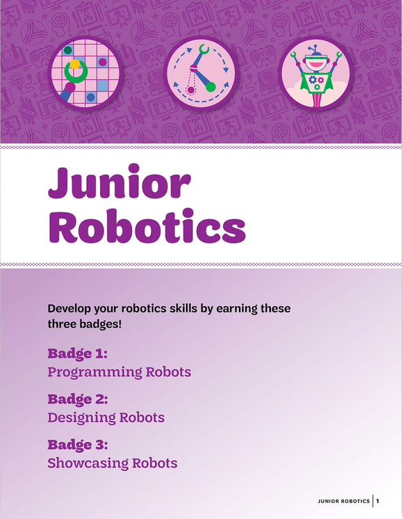 JR ROBOTICS BADGE PAMPHLET - 64039