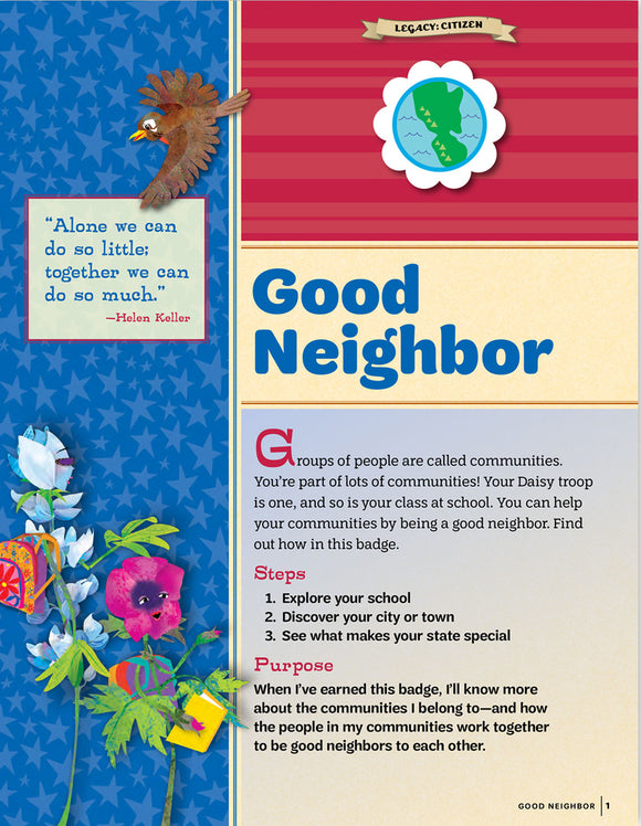 DAISY GOOD NEIGHBOR PAMPHLET - 64041