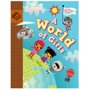 Brownie Journey Book - A World of Girls - It's Your Story - Tell It! - 67204