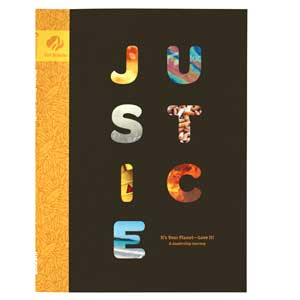 Ambassador Journey Book - Justice: It's Your Planet - Love It! - 67602