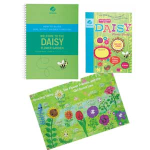 Daisy Flower Garden and Adult Guide Journey Book Set - 67700