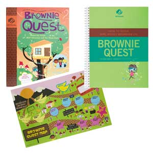 Brownie Quest and Adult Guide Journey Book Set - 67701