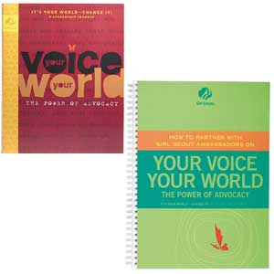 Ambassador Your Voice Your World and Adult Guide Journey Book Set - 67705
