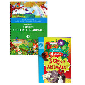 Daisy 5 Flowers, 4 Stories, 3 Cheers of Animals and Adult Guide Journey Book Set - 67720