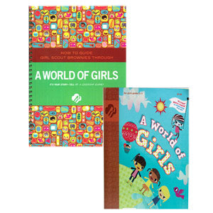 Brownie World of Girls and Adult Guide Journey Book Set - 67721