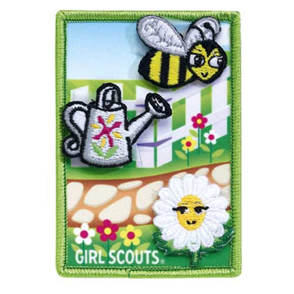 DAISY FLOWER GARDEN PATCH SET - 69100
