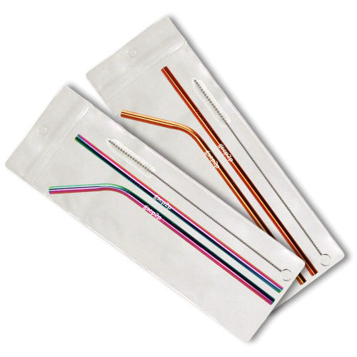 STAINLESS STEEL STRAW SET - 7401