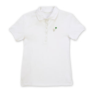 Girl Scout Adult Missy Volunteer Polo Tee Medium - 75192