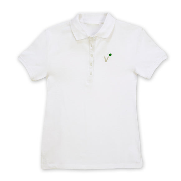 Girl Scout Adult Missy Volunteer Polo Tee Large - 75193