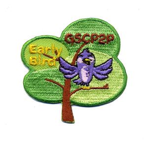 Girl Scout 2014 Early Bird Patch - 78104