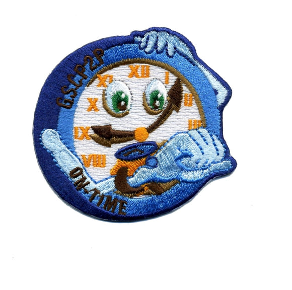 Girl Scout P2P On Time Patch - 78255