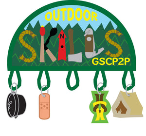 OUTDOOR SKILLS FUN PATCH - 78509