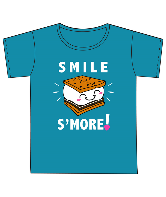 SMILE S'MORE T-SHIRT - 7865