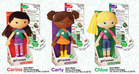 GIRL SCOUT FRIENDSHIP DOLL - 7869