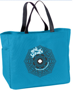 GIRL SCOUT TOTE BLUE - 79033