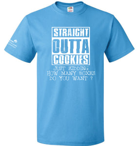 STRAIGHT OUTTA COOKIES T-SHIRT - 7912