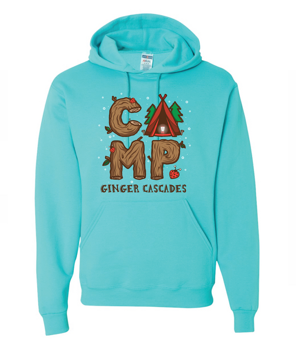 CAMP GINGER TENT SWEATSHIRT - 7941