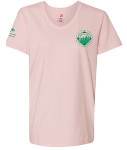 CAMP LIKE A GIRL V-NECK SHIRT - 7946