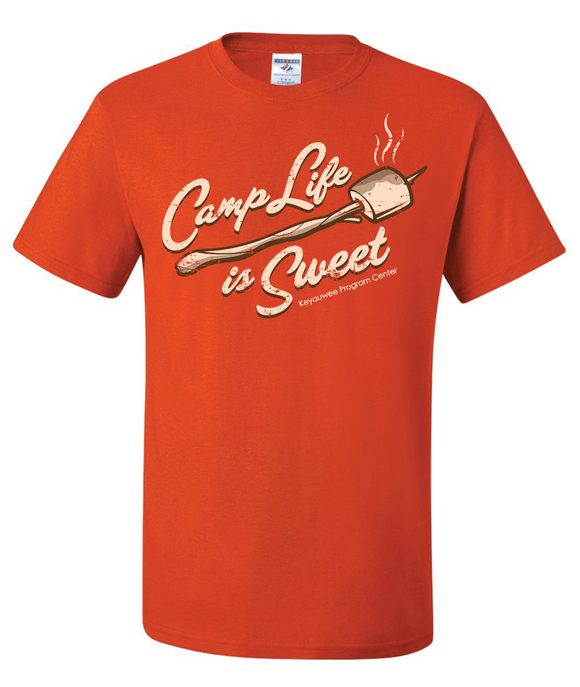 KEYAUWEE CAMP LIFE T-SHIRT - 7947