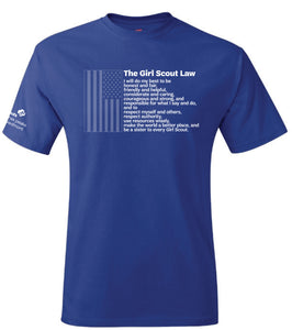 GIRL SCOUT LAW T-SHIRT - 7953