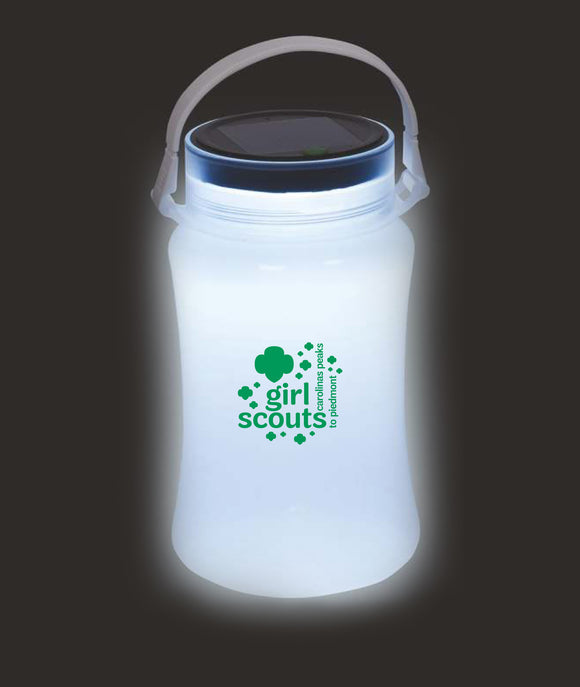 FOLDABLE WATERPROOF CONTAINER WITH SOLAR LIGHT - 79572