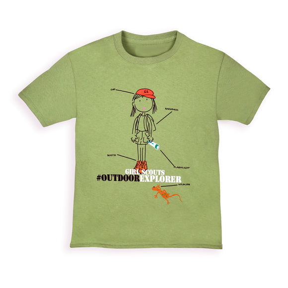 OUTDOOR EXPLORER TEES - 8547