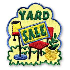 YARD SALE PATCH - SL3602