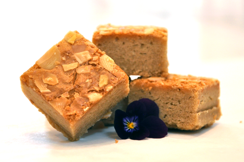 almond blondie delicious client gifts
