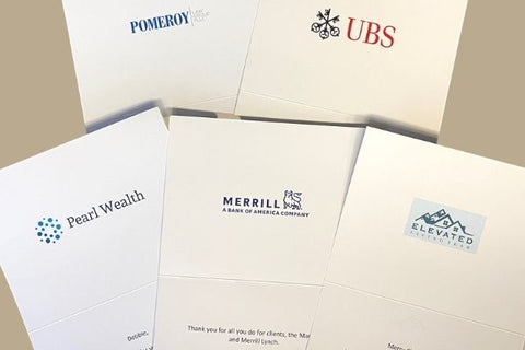 Custom Greeting Cards Featuring Your Logo