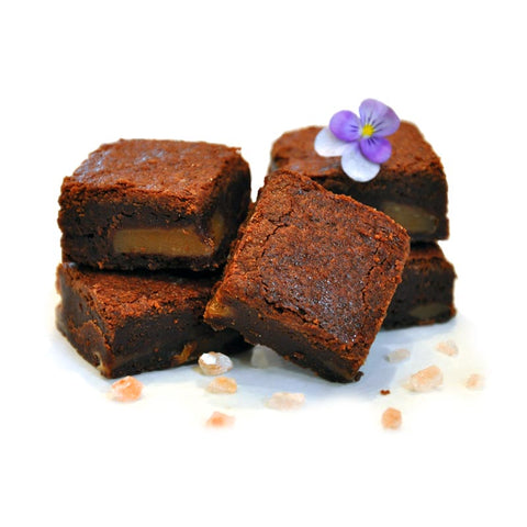 Chocolate Salted Caramel Truffle Brownie Made in Colorado