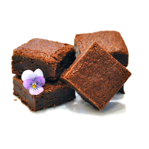 Chocolate brownie food gifts delivered. Luxurious chocolate decadence awaits!